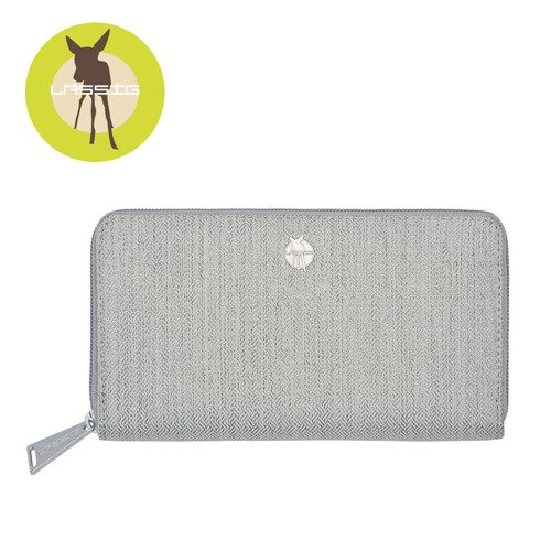 Lassig Green Label Portfel z  Etui na Karty Mix 'n Match Light grey