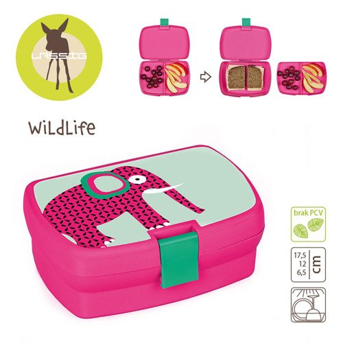 Lassig Lunchbox Wildlife Słoń