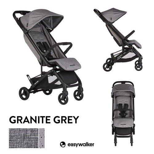 EML10005 Easywalker Miley Wózek spacerowy z osłonką przeciwdeszczową Granite Grey